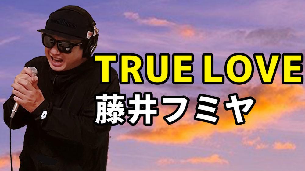 【藤井フミヤ TRUE LOVE】歌ってみた
